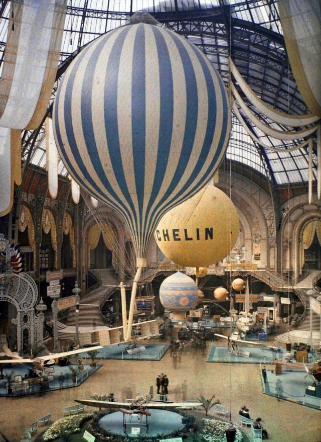 Exposition au Grand Palais en 1909