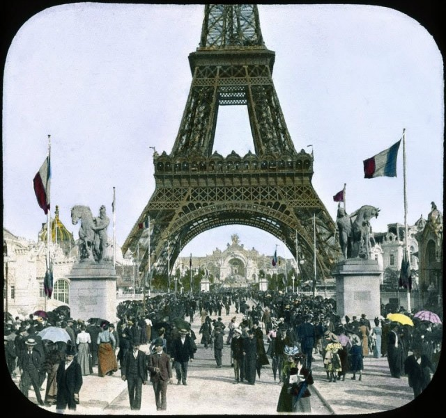 Exposition universelle de 1900 - la Tour Eiffel