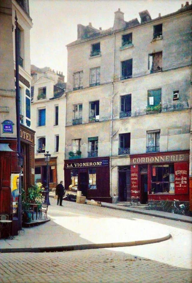 Place Jussieu, angle des rues Linné et des Boulangers par Stéphane Passet