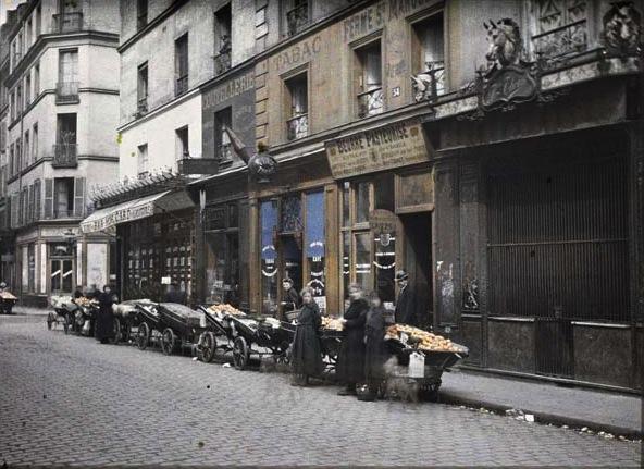 Rue Basfroi -   XIeme Arr  en 1918