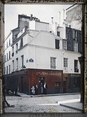 Angle Rue du Pot de Fer et rue de Lhomond