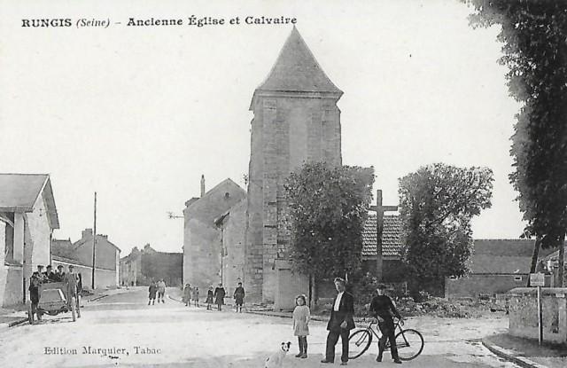 Ancienne église et calvaire
