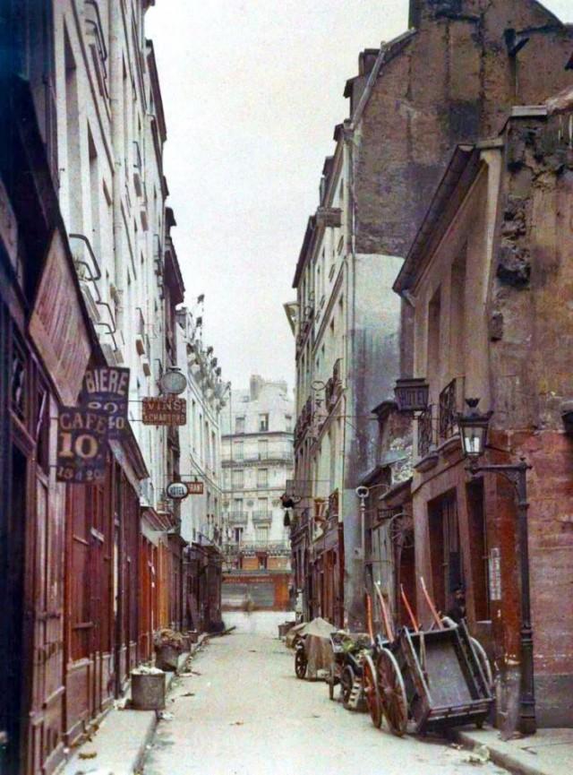 Rue de Bièvre par Stephane Plasset