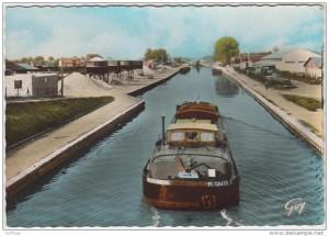 Canal de l'Ourcq entre Aulnay et Pavillon