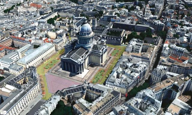 Place du Pantheon visuel