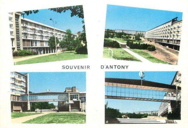 Années 60. Construction de grands ensembles