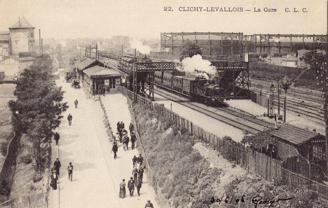 Gare de Clichy-Levallois