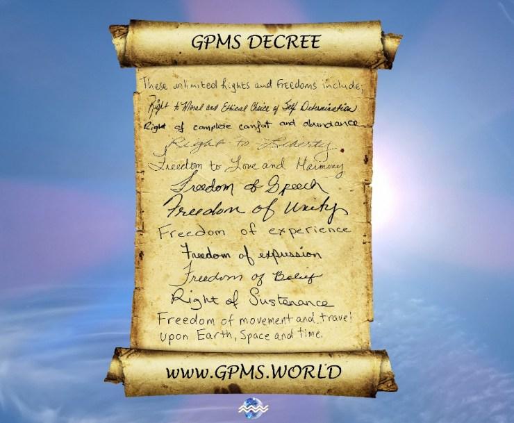 GPMS Decree Freedoms