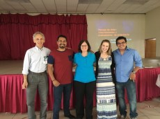 The UNAN team was comprised of Dr. Richard Strauss, Mary Knutson and Kelsey Strey. They taught Palliative Care, Pain Management and Helping Babies Breathe to nursing students and first year medical students. Braulio and Ernesto were the team's faithful interpreters for the week.