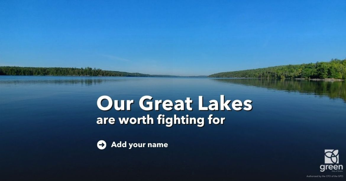 Our Great Lakes are worth fighting for.