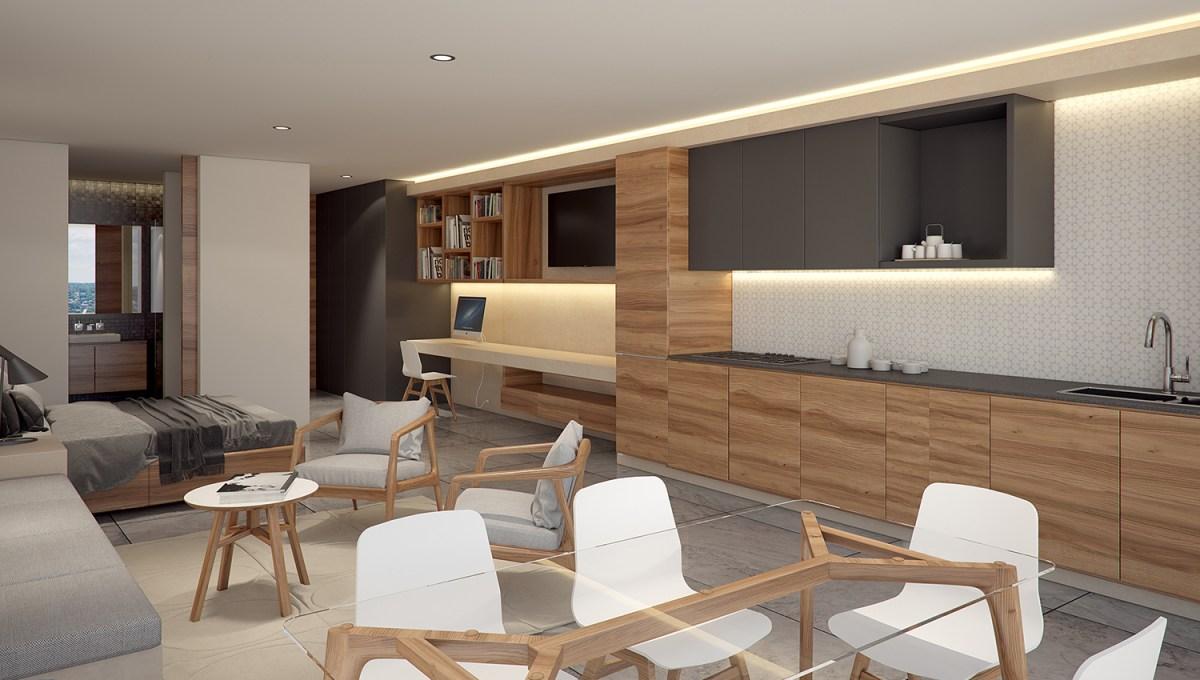 Vista departamento 60 m2 - Riva
