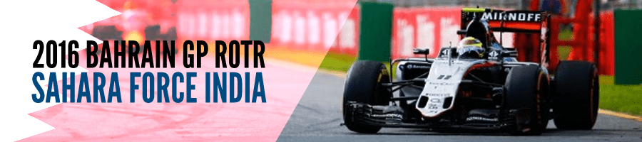 2016 Bahrain GP ROTR: Force India
