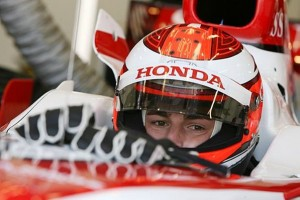 Honda test driver James Rossiter assumed third driver duties for Super Aguri.