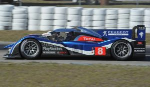 Peugeot's all-new 908 was highly successful. This is Lamy at Sebring, 2011. (ACO/DPPI)