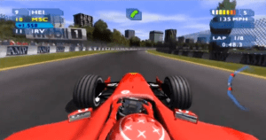 The visuals are really nothing special. Personally, I think F1 2001 looks better.