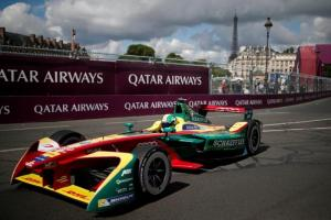 Di Grassi in Paris (REUTERS/Benoit Tessier)