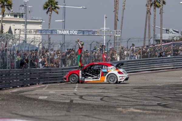 Scott Speed secures the 2017 Global Rallycross title (Volkswagen Motorsport)