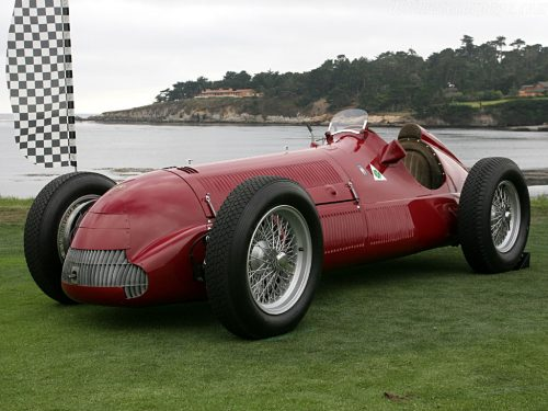 The car that ruled F1 with an iron fist in 1950/51, the legendary Alfetta.