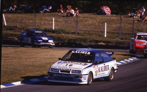 It took drivers of the Kaliber of Guy Edwards to tame the RS500...