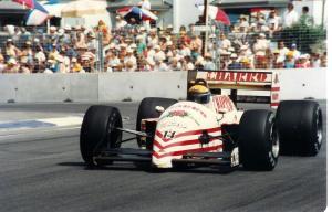 JH22 1987 - Roberto Moreno (F1 Adelaide)