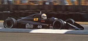 JH24 1989 - Gabriele Tarquini (F1 Silverstone) - split airbox version