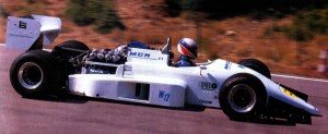 JH22 1989 - MGN engine test with Philippe Billot