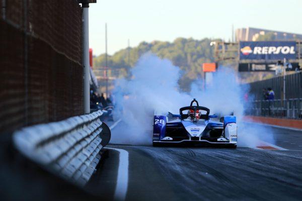 Valencia (ESP), 27th November - 1st December 2020. ABB FIA Formula E World Championship, Season 7, BMW i Andretti Motorsport, No. 28, BMW iFE.21, Maximilian Günther (GER) test.