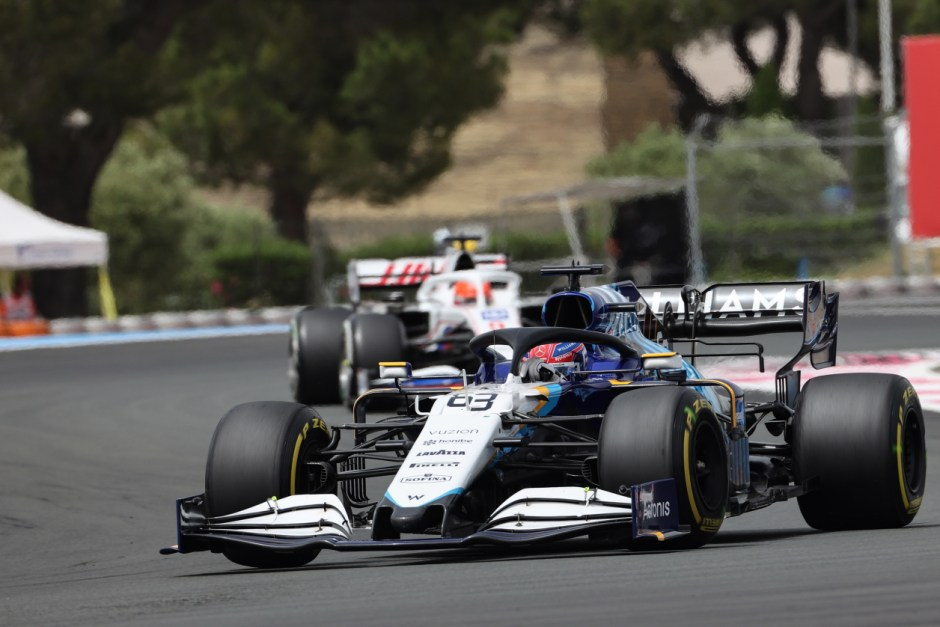 Russell put up his best showing for Williams at Paul Ricard. Photography: Williams Racing
