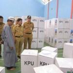 Sachrudin Pantau Pengiriman Logistik Jelang Pemilu 2019