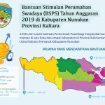 Lokasi Bantuan Stimulan Perumahan Swadaya BSPS Bersumber Dari APBN 2019 di Provinsi Kalimantan Utara Untuk Kabupaten Tana Tidung