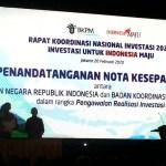 Rakornas Investasi 2020 untuk Indonesia Maju