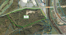 Large Corner Commercial Tract in Sevierville