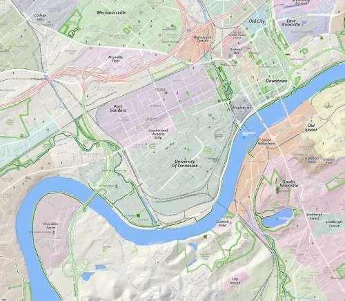 neighborhood map large