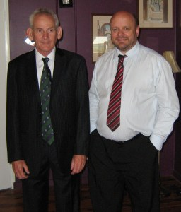 Alan Whitham and Gregory Storer