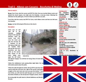 Description trail Albese con Cassano - Bocchetta di Molina ENG
