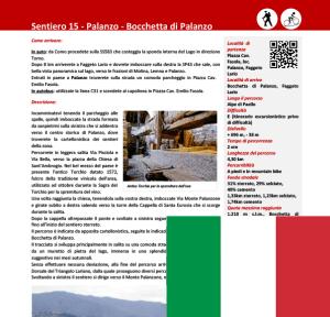Descrizione sentiero Palanzo - Bocchetta ITA