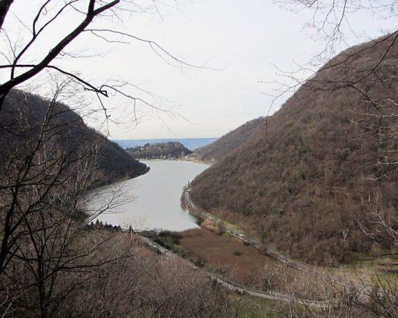 Punto panoramico sul Lago del Segrino