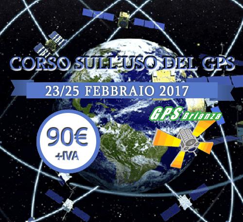 Corso GPS a Febbraio 2017