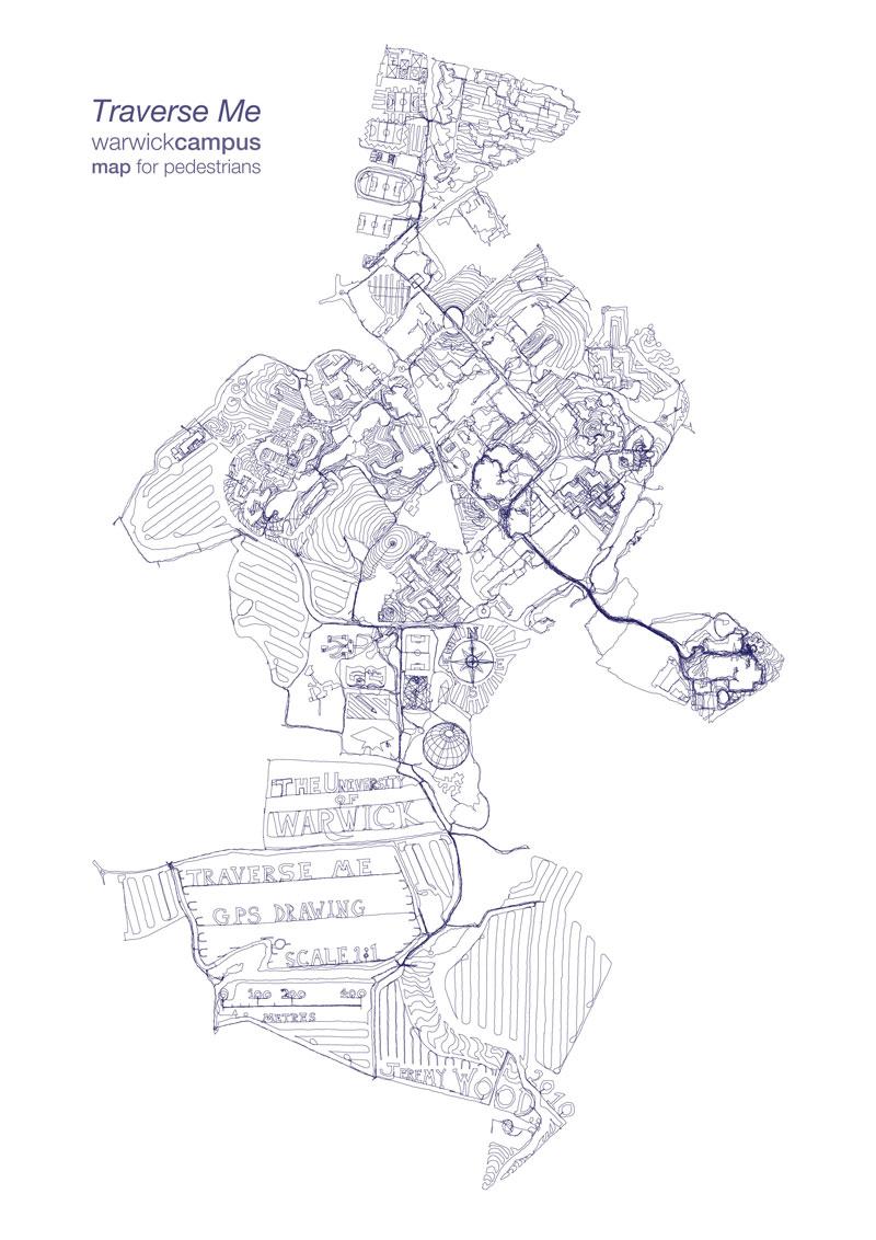 Warwick Campus Map