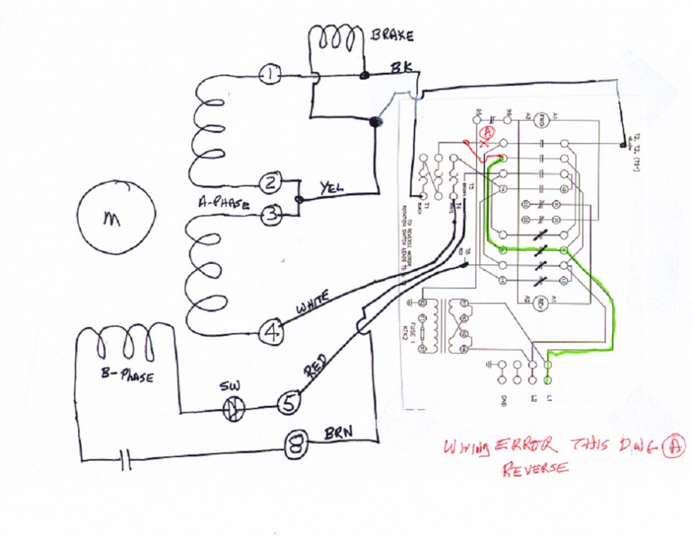 medium resolution of 3 phase 6 wire motor wiring diagram