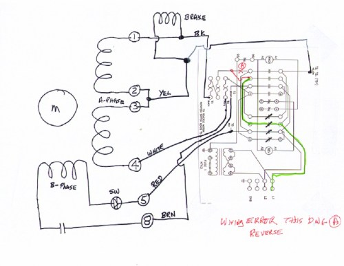 small resolution of 3 phase 6 wire motor wiring diagram