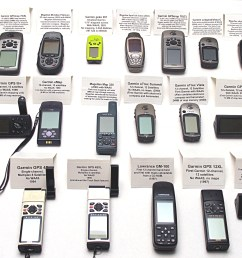 jack s museum collection of 18 working hand held gps receivers from 1994 to 2005 1 4mb  [ 3264 x 2448 Pixel ]