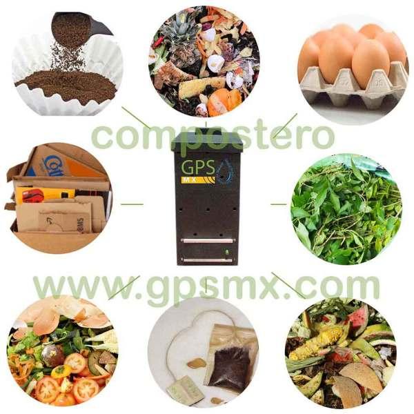 Composteros 60 Lts productos para compostero GPSMX