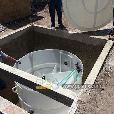 Microplanta para el tratamiento de agua residual DR AT con reuso, cumplimiento NOM001, NOM002 y hasta NOM003
