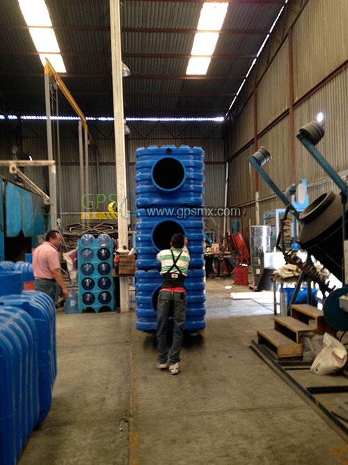 Estibar Microplanta de tratamiento de agua residual Gpsmx Modelo 2500 3 modulo