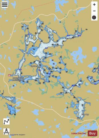 Lake Ontario Depth Chart : ontario, depth, chart, (Fishing, CA_ON_DogToothLake), Nautical, Charts
