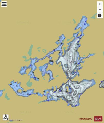 Lake Ontario Depth Chart : ontario, depth, chart, Kilvert, (Fishing, CA_ON_kilvert_on), Nautical, Charts
