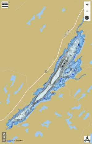 Lake Ontario Depth Chart : ontario, depth, chart, (Fishing, CA_ON_pike_lake_on), Nautical, Charts