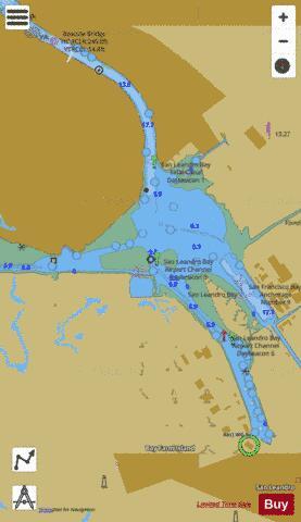 San Francisco Bay Fishing Map : francisco, fishing, FRANCISCO, ANTIOCH, LEANDRO, (Marine, Chart, US18652_P1838), Nautical, Charts