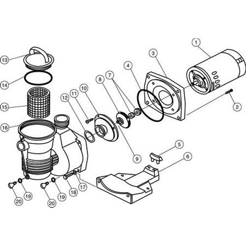 Pentair Whisperflo Pump Wiring Diagram